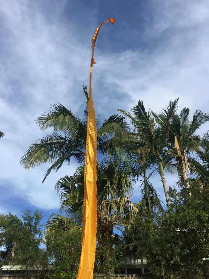Bali Healing Flag