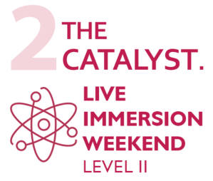 The Catalyst Level II Live Immersion Weekend