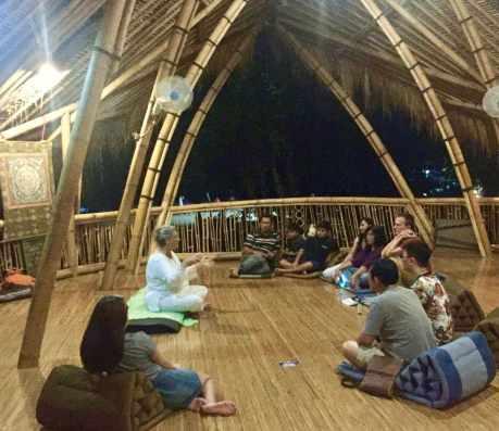 Healing talk in Bali 2018